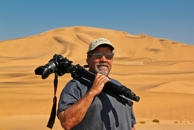 Dan Austin in Namibia