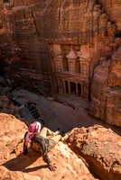 Above the Treasury in Petra