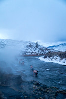 Boiling River blue hour