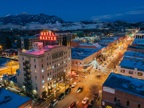 Christmas in Downtown Bozeman
